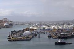 Port de Honolulu Photographie stock libre de droits