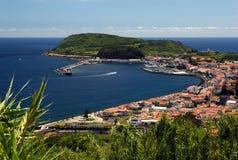 Port de Horta photos stock