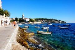 Port de Hvar Croatie Images libres de droits