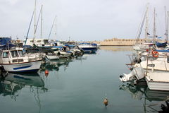Port de Jaffa à Tel Aviv Image stock