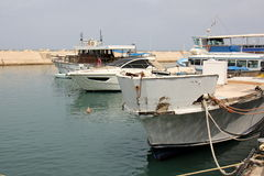 Port de Jaffa à Tel Aviv Photo stock