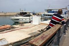 Port de Jaffa à Tel Aviv Images libres de droits