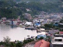 Port de Jayapura photos stock