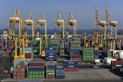 Port de Khor Fakkan, Emirats Arabes Unis Images libres de droits