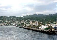 port de kingstown Photographie stock