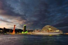 Port de Kobe Photographie stock