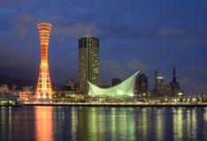 Port de Kobe Images stock