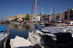 Port de Kyrenia Photo stock