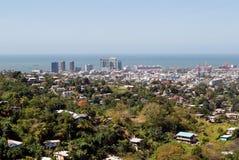 Port - de - l'Espagne chez le Trinidad Images libres de droits