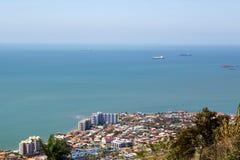 Port - de - l'Espagne chez le Trinidad Photos libres de droits