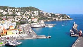 Port de la Côte d'Azur agréable et clips vidéos