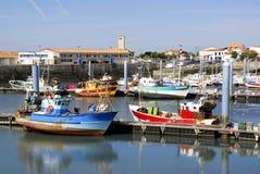 port de La de la France de cotiniere image libre de droits