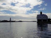 port de la Malaga-Andalousie-Espagne Images stock