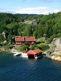 Port de la Norvège Photos libres de droits