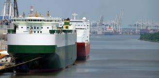 Port de la savane Photographie stock libre de droits