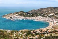 port de la Selva 免版税库存照片