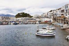 Port DE La Selva dorp in Costa Brava, Catalonië, Spanje Stock Fotografie