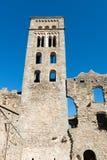PORT DE LA SELVA (ESPAÃ ` A) -修道院SANT PERE DE RODES 图库摄影