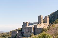 PORT DE LA SELVA (ESPAÑA) - MONASTERY SANT PERE DE RODES Royalty Free Stock Image