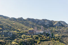 PORT DE LA SELVA (ESPAÑA) - MONASTERY SANT PERE DE RODES Royalty Free Stock Photography