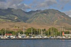 Port de Lahaina Images libres de droits