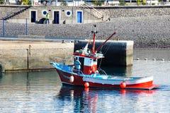 Port De Las Nieves i Agaete, Royaltyfria Bilder
