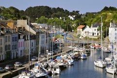 Port de Le Palais à la belle Ile en France Photo stock