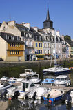 Port de Le Palais à la belle Ile en France Image stock