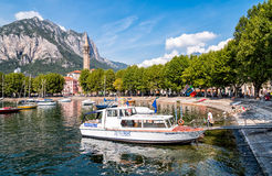 Port de Lecco, Italie Images stock