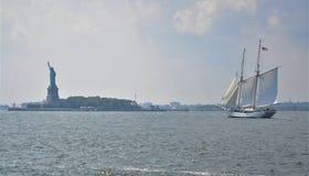 Port de liberté Photos stock