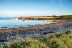 Port de Lindisfarne Photographie stock libre de droits