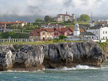 Port de Llanes images libres de droits