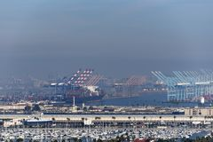 Port de Los Angeles Image libre de droits