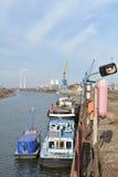Port de Magdebourg Image libre de droits