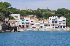 Port de Mahon dans Menorca Images libres de droits