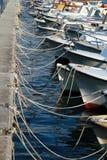 Port de Makarska, Croatie, l'Europe Photos libres de droits
