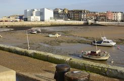 Port de Margate. Kent. Angleterre Photos libres de droits