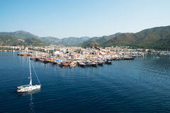 Port de Marmaris, Turquie photo stock