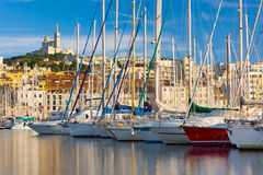Port de Marseille Photo stock