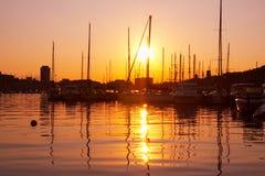 Port de Marseille en France. Images stock