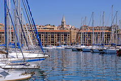 Port de Marseille in France Stock Images
