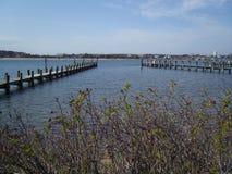 Port de Martha's Vineyard image libre de droits