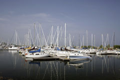 Port de Mississauga Photo stock
