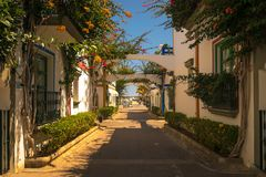 Port DE Mogan stock foto