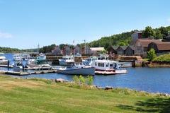 Port de Montague, P.E.I photos stock