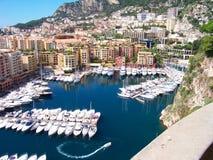 Port de Monte Carlo Photos libres de droits