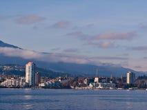 Port de Nanaimo Photographie stock libre de droits