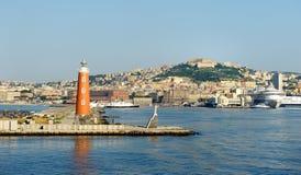 Port de Naples Photos libres de droits