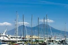 Port de Naples Photos stock