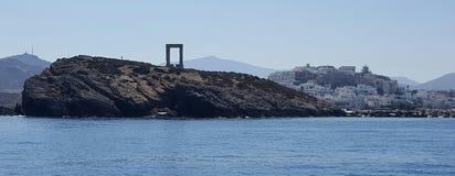 Port de Naxos, Grèce Photos stock